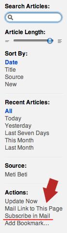 MetiBeti RSSfeed naročilo na e-mail