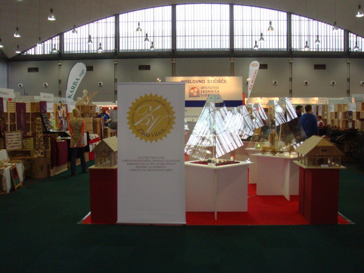 LOS 2014 razstava izdelkov domače in umetnostne obrti
