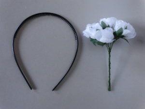 DIY Obrocek s cvetjem_potrebscine