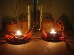 DIY Halloween pajki iz plastelina