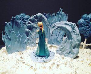 DIY Torta Ledeno kraljestvo